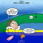 Rain at Camp