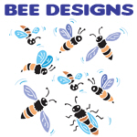 Silly & Cute Bee Designs