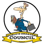WORLDS GREATEST COUNCIL CARTOON