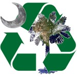 Earth Palmetto in Recycle Logo Shirts and Gifts