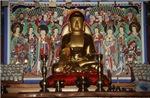 High Relief Budha W/ Fresco