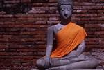Stone Budha in Meditation