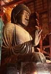 Shrine of Giant Stone Buddha Meditating