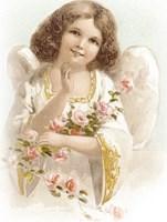 Pink Rose Angel