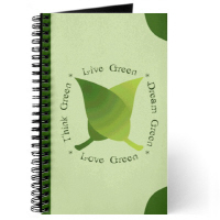 WRITE GREEN NOTEBOOKS - back to school or office