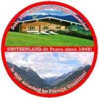 Peace in Switzerland Men's Clothing