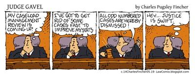 Judge Gavel: Caseload Management