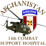 14th Combat Support Hospital - Afghanistan UH-60