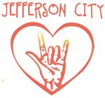 JEFFERSON CITY (hand sign)