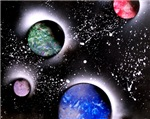 Outer Space Painting