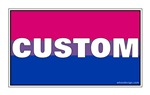 Bi-Sexual Pride Flag CUSTOM