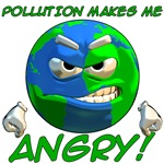 Pollution Makes Me Angry!