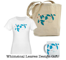 Whimsical Teal and Red Design, Gifts and More!