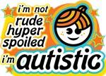 I'm Not Rude... Orange/Blue (Boy)