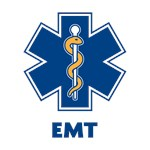 EMS Star of Life with EMT