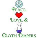 Cloth Diapering Advocacy Designs