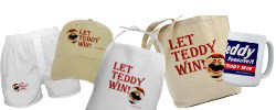 Let Teddy Win! Gifts