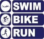 Woman's Swim Bike Run Triathlon Triathlete