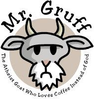 Mr. Gruff logo