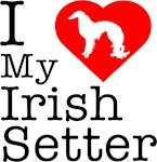 I Love My Irish Setter