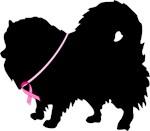 Pink Ribbon Pomeranian