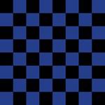 Blue Checkered Pattern