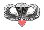 ARMY JUMPWINGS&HEART T-Shirts & Gifts