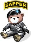 U.S. Army SAPPER Teddy Bear