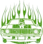 Flamed 1969 Bowtie SS