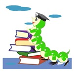 Graduation Bookworm T-shirts and Gifts