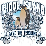 Save the Penguin Rhode Island T-Shirts and Gifts