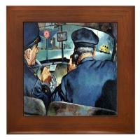 Vintage Police Art
