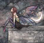 Ready for Flight Fairy Art Fantasy Art by Molly Ha
