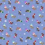 Cute Christmas Reindeer Pattern
