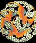 Bats - Asian Motif