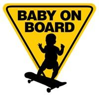 Baby On Board (Skateboard)