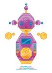 Kawaii Robot 00111000