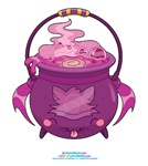 Kawaii Cat Cauldron