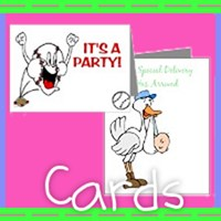 Greeting Cards, Invitations, Announcements