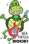 SEA TURTLE ROCKS OUT
