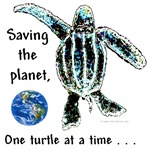 Saving the Planet One Turtle at a Time T-SHIRTS