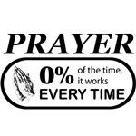 Prayer 0 percent