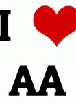 I Love AA