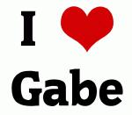 I Love Gabe