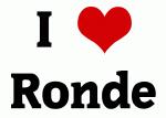 I Love Ronde