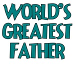 WORLD'S GREATEST FATHER TEAL