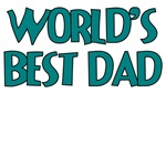 WORLD'S BEST DAD TEAL