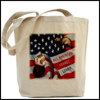 Ferret Tote Bags