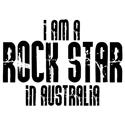Rock Star In Australia T-shirts