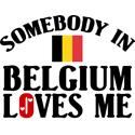 Somebody In Belgium T-shirts